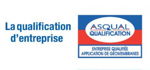 Qualification ASQUAL Entreprise d'application de géomembranes
